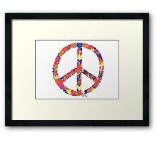 Heart Peace Framed Print