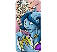 Stained Glass - Draenei iPhone Case/Skin