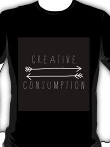 Creative Consumption B&W T-Shirt