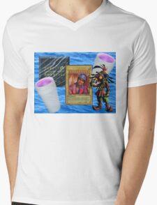 Based God Mens V-Neck T-Shirt