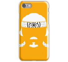 The master of Karate iPhone Case/Skin
