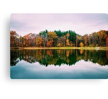 Colorful Lake Canvas Print