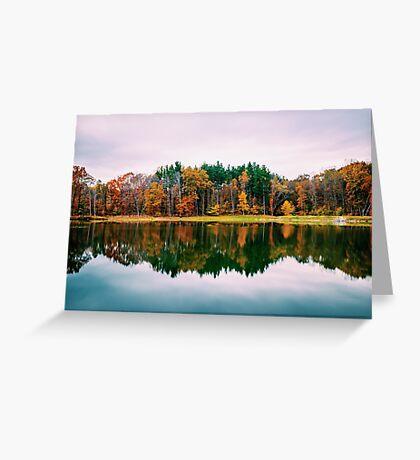 Colorful Lake Greeting Card