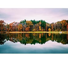 Colorful Lake Photographic Print