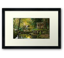 Pena National Palace Grounds Framed Print