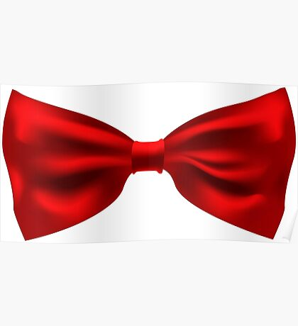 The bow tie. Poster