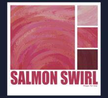 Salmon Swirl One Piece - Long Sleeve