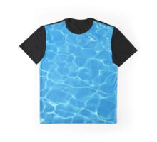 Water pattern Graphic T-Shirt