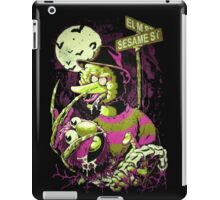 Nightmare Sesame Street iPad Case/Skin