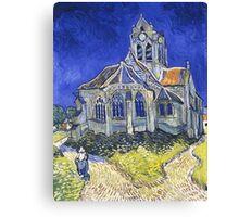 Auvers Sur Oise Vincent Van Gogh Canvas Print