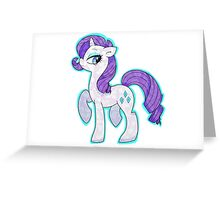 Rarity Greeting Card