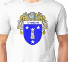 Portalatin Coat of Arms/Family Crest Unisex T-Shirt