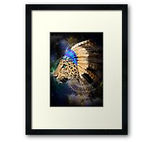 Fight For What You Love (Chief of Dreams: Amur Leopard) Framed Print