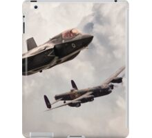 617 Then and Now iPad Case/Skin
