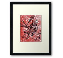 Spins a web any size Framed Print