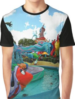 One Fish Two Fish Up Up Up! Graphic T-Shirt
