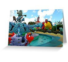 One Fish Two Fish Up Up Up! Greeting Card