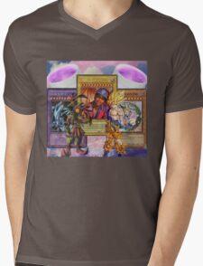 Based Life Mens V-Neck T-Shirt