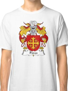 Perez Coat of Arms/Family Crest Classic T-Shirt