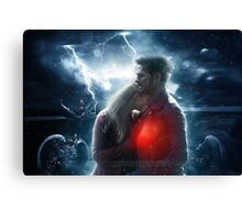One heart two souls Canvas Print