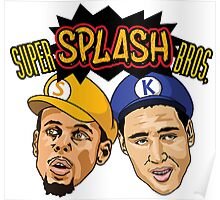 Splash Brothers Poster