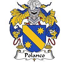 Polanco Coat of Arms/Family Crest Photographic Print