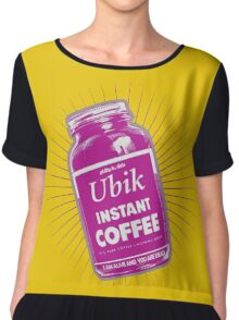 ubik - philip k. dick bestseller - i am alive you are dead Chiffon Top