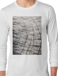 Leadwood - Textured Hardwood - Unique African Patterns Long Sleeve T-Shirt
