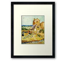 The Old Mill by Vincent Van Gogh Framed Print