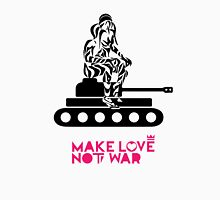 Make Love Not War Tank Unisex T-Shirt