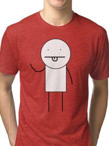 KIDCOM character (basic edition) Tri-blend T-Shirt