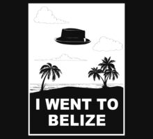 I WENT TO BELIZE by Théo Proupain
