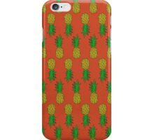A Pattern of Pineapples iPhone Case/Skin