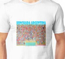 La hinchada de Argentina por Diego Manuel  Unisex T-Shirt