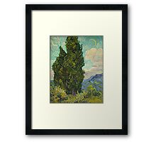 Trees by Vincent Van Gogh Framed Print