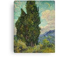 Trees by Vincent Van Gogh Canvas Print