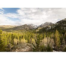 Colorado Rockies Photographic Print