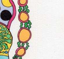 Krazy Straw Sticker