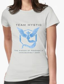 Pokémon Go! Team Mystic Womens Fitted T-Shirt