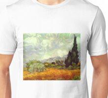 Landscape by Vincent Van Gogh Unisex T-Shirt