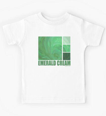 Emerald Cream Kids Tee