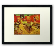 Country Pub by Vincent Van Gogh Framed Print