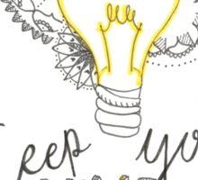 keep your mind bright Sticker