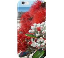 Pohutukawa Blossoms By the Sea iPhone Case/Skin