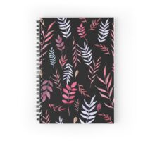 Watercolor leaves Spiral Notebook