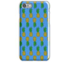 Pineapple Patterns iPhone Case/Skin