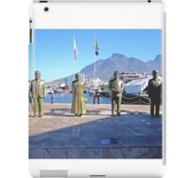 NOBEL SQUARE CAPE TOWN SOUTH AFRICA iPad Case/Skin