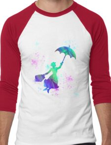 magical mary poppins Men's Baseball ¾ T-Shirt