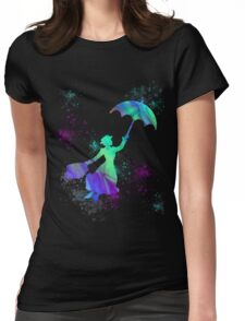 magical mary poppins Womens Fitted T-Shirt