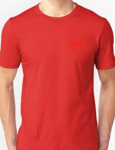 Pokemon Go | Team Valor | Black Background | Small | New! | High Quality! Unisex T-Shirt
